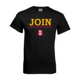 Black T Shirt-Stacked Join Kappa Alpha Order
