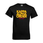 Black T Shirt-Bid Day Block Type