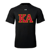 Under Armour Black Tech Tee-Two Color KA