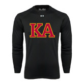 Under Armour Black Long Sleeve Tech Tee-Two Color KA