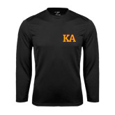 Syntrel Performance Black Longsleeve Shirt-Two Color KA