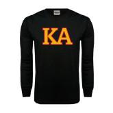 Black Long Sleeve TShirt-Two Color KA