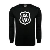 Black Long Sleeve TShirt-KA 150 Shield