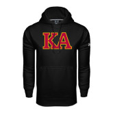 Under Armour Black Performance Sweats Team Hoodie-Two Color KA