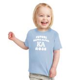 Toddler Light Blue T Shirt-Future Kappa Alpha Rose