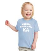 Toddler Light Blue T Shirt-Future Kappa Alpha