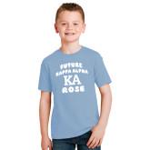 Youth Light Blue T Shirt-Future Kappa Alpha Rose