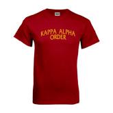 Cardinal T Shirt-Arched Kappa Alpha Order