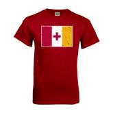 Cardinal T Shirt-KA Flag Distressed