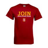 Cardinal T Shirt-Stacked Join Kappa Alpha Order