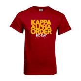 Cardinal T Shirt-Bid Day Block Type