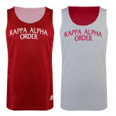 Red/White Reversible Tank-Arched Kappa Alpha