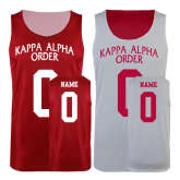 Red/White Reversible Tank-Personalized