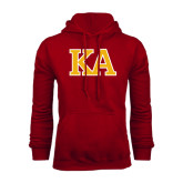 Cardinal Fleece Hoodie-Two Color KA