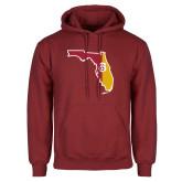 Cardinal Fleece Hoodie-Florida