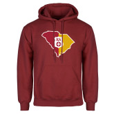 Cardinal Fleece Hoodie-South Carolina