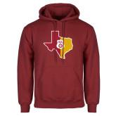 Cardinal Fleece Hoodie-Texas