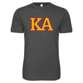 Next Level SoftStyle Charcoal T Shirt-Two Color KA