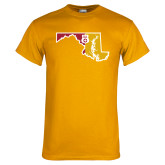 Gold T Shirt-Maryland