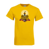Gold T Shirt-Coat of Arms