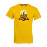 Gold T Shirt-Coat of Arms