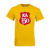 Gold T Shirt-KA 150 Shield