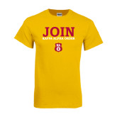 Gold T Shirt-Stacked Join Kappa Alpha Order