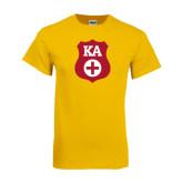 Gold T Shirt-KA Shield