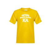 Youth Gold T Shirt-Future Kappa Alpha