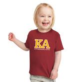 Toddler Cardinal T Shirt-KA Future Kappa Alpha