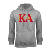 Grey Fleece Hoodie-Two Color KA
