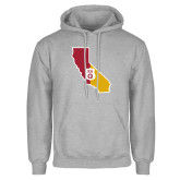 Grey Fleece Hoodie-California