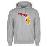 Grey Fleece Hoodie-Florida