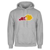 Grey Fleece Hoodie-Kentucky