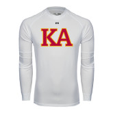 Under Armour White Long Sleeve Tech Tee-Two Color KA