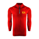 Under Armour Cardinal Tech 1/4 Zip Performance Shirt-KA