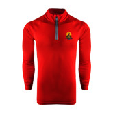 Under Armour Cardinal Tech 1/4 Zip Performance Shirt-Coat of Arms
