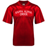 Replica Red Adult Football Jersey-Arched Kappa Alpha
