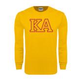 Gold Long Sleeve T Shirt-Two Color KA