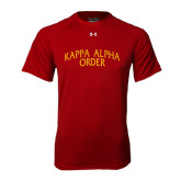 Under Armour Cardinal Tech Tee-Arched Kappa Alpha Order