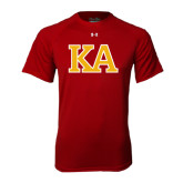 Under Armour Cardinal Tech Tee-Two Color KA