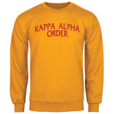 Gold Fleece Crew-Arched Kappa Alpha Order