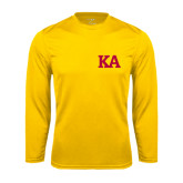 Syntrel Performance Gold Longsleeve Shirt-KA