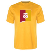 Performance Gold Tee-New Mexico
