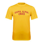 Performance Gold Tee-Arched Kappa Alpha Order
