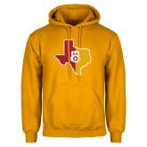 Gold Fleece Hoodie-Texas