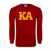 Cardinal Long Sleeve T Shirt-KA