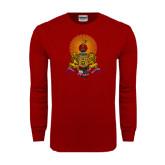 Cardinal Long Sleeve T Shirt-Coat of Arms
