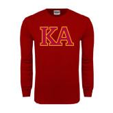 Cardinal Long Sleeve T Shirt-Two Color KA