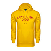 Under Armour Gold Performance Sweats Team Hoodie-Arched Kappa Alpha Order